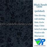 G684 Black Basalt/Black Beauty Polished Tiles