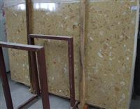 Beige Artificial stone slabs tiles Artificial marble