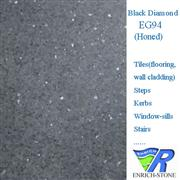 EG94 Balck Diamond Granite Honed Tiles