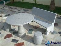Garden Stone Table, Granite Table Chair