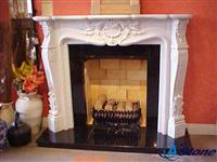 Stone Fireplace Mantel, Fireplace Mantles