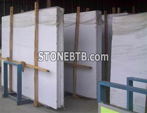 Chinese White Marble Tiles and Slabs