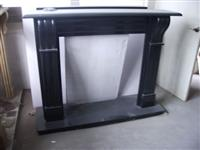 Shanxi Black Granite Fireplace