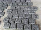 Black Granite Net Paste Stones Natural Face+Tumbled