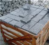 G603 Granite Cubes Sawn+Tumbled