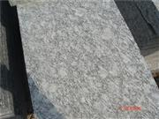 G418 White Granite Slab Flamed