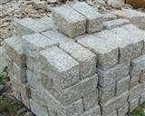 granite cobble stone (granite cube)
