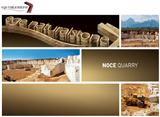 Noce Travertine Blocks