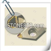 Natural diamond milling inserts,Single Crystal Diamond (Mono-crystalline) insert tools