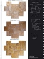 Travertine Versailles Pattern Sets