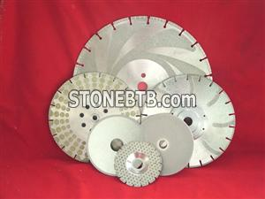 Electroplated Diamond Cutting Discs